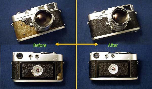 Leica M4, M4-2, M4-P Custom Covering Kit